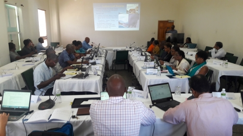 CRFM convenes meeting in Montserrat to advance protocol on Climate Change and Disaster Risk Management in Fisheries