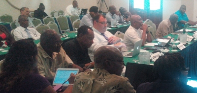 Participants in Regional Validation Workshop on Fisheries SPS Measures, Accra Beach Hotel, 25 August 2015